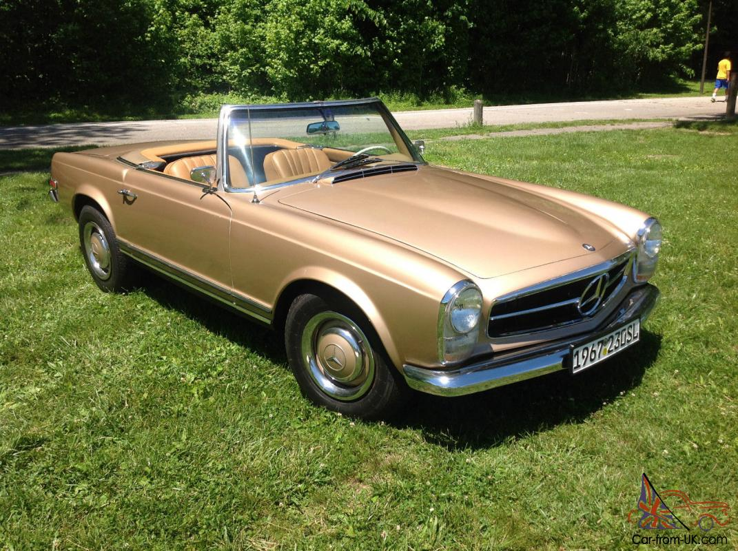 1967 mercedes benz sl 230 for Mercedes benz 230 for sale