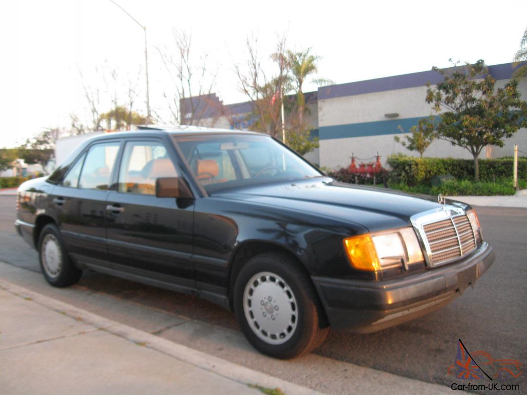 1987 mercedes benz 300e rare body w124 only 32k 1 owner for Mercedes benz 300e for sale