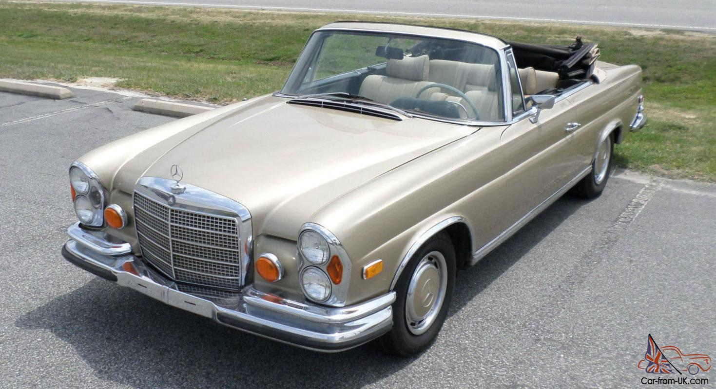 1973 mercedes benz 280 se convertible