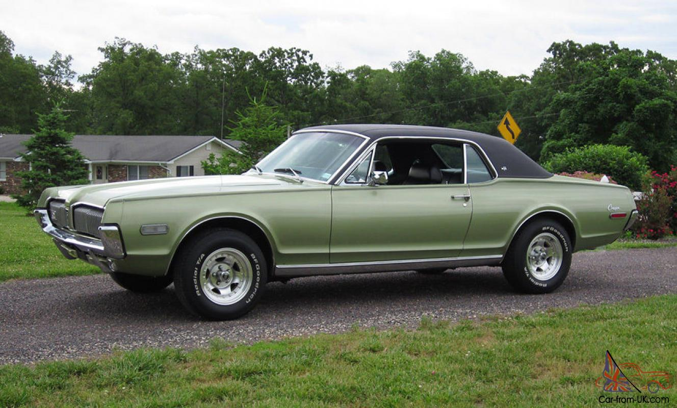 1968 mercury cougar xr7 v8 302 rare outstanding condition many photos. Black Bedroom Furniture Sets. Home Design Ideas