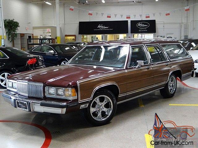 1989 mercury grand marquis ls colony park station wagon. Black Bedroom Furniture Sets. Home Design Ideas
