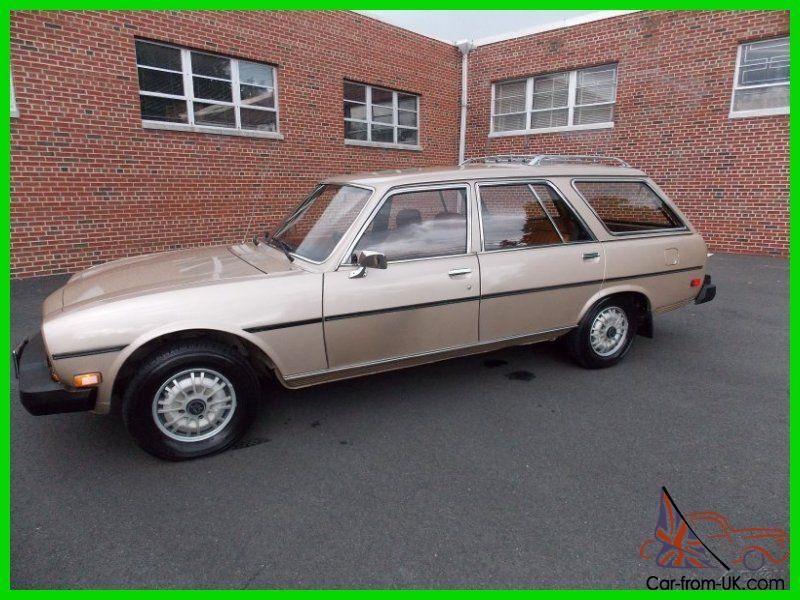 80 Peugeot 504 Diesel Wagon Original Miles And Condition