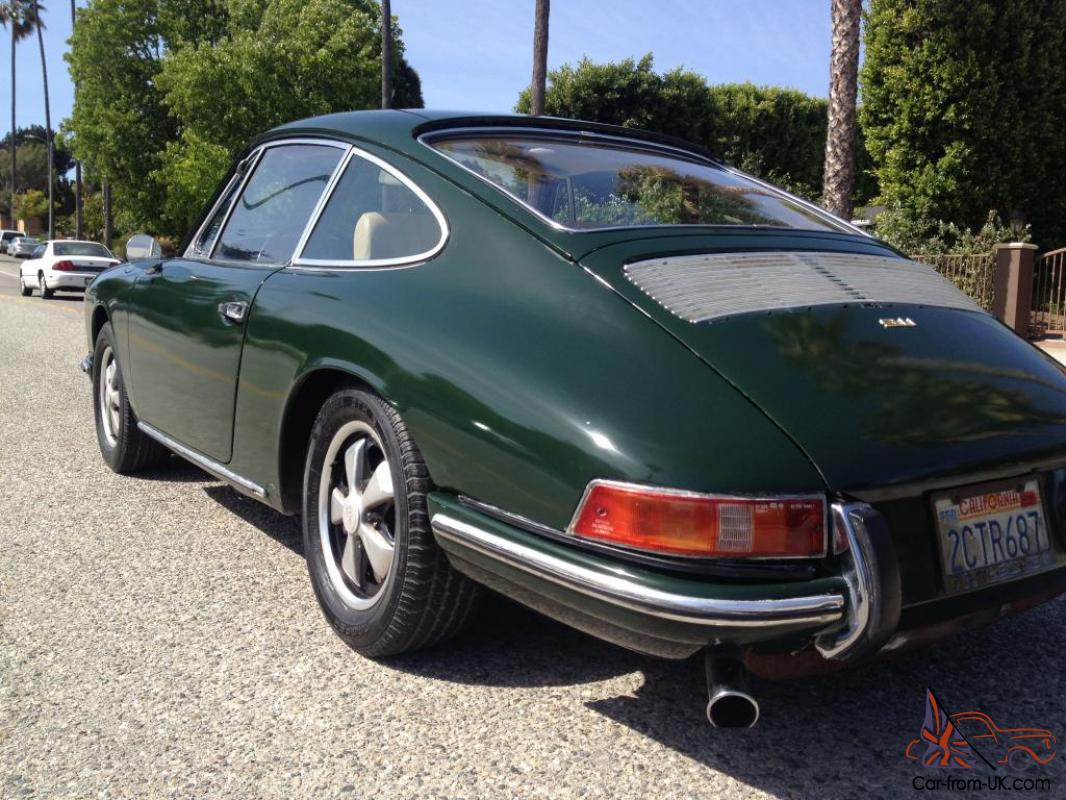 1968 porsche 911 t s sunroof matching original. Black Bedroom Furniture Sets. Home Design Ideas