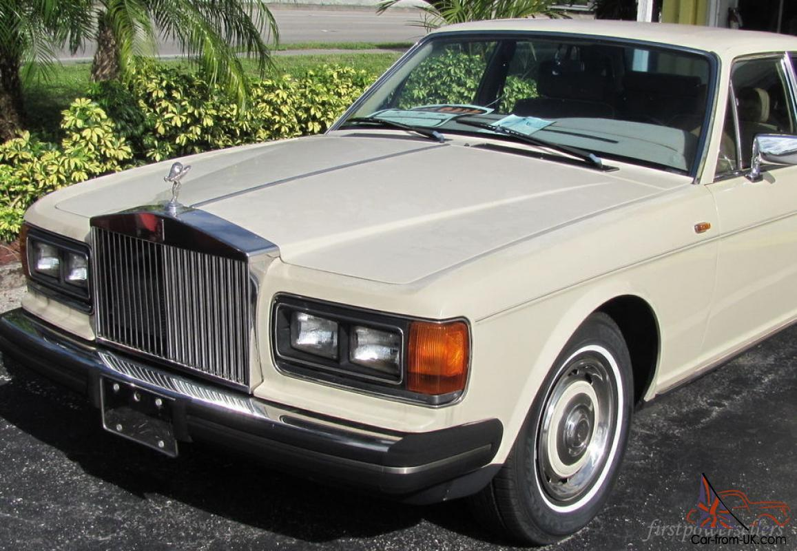 classic 1986 rolls royce silver spirit luxury car 73k miles naples florida. Black Bedroom Furniture Sets. Home Design Ideas
