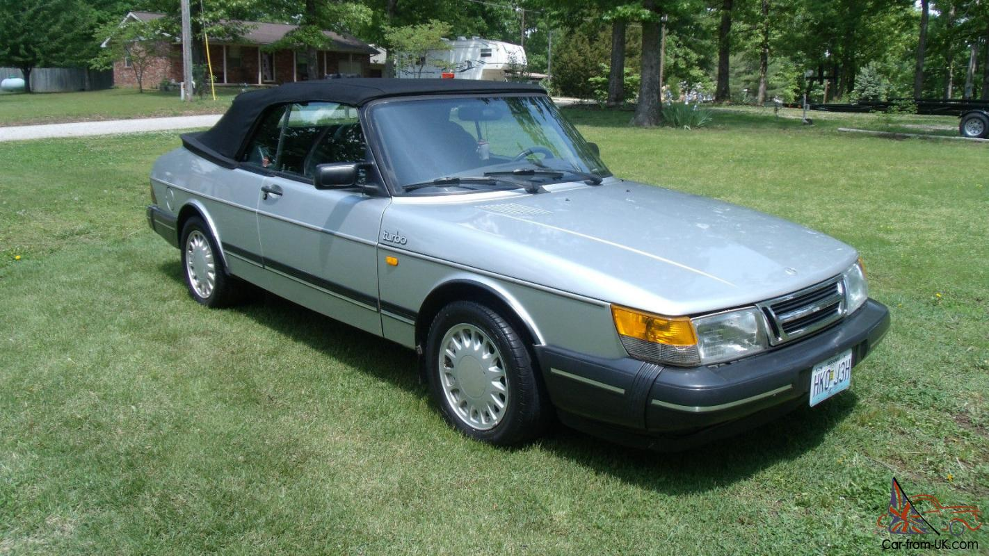 1987 saab 900 turbo 5 speed convertible power top with. Black Bedroom Furniture Sets. Home Design Ideas