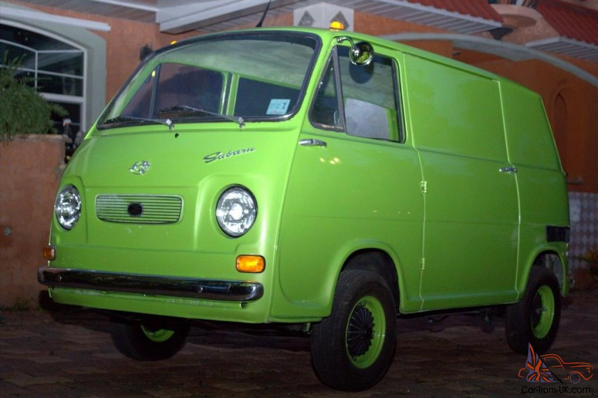 1969 subaru 360 van micro car micro van nicely. Black Bedroom Furniture Sets. Home Design Ideas