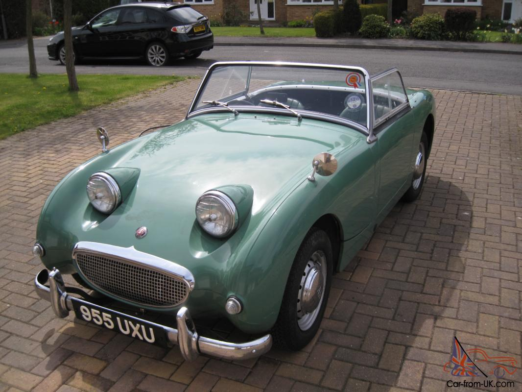 What To Do With Expired Car Seats >> Austin Healey frogeye sprite Mk1 original condition
