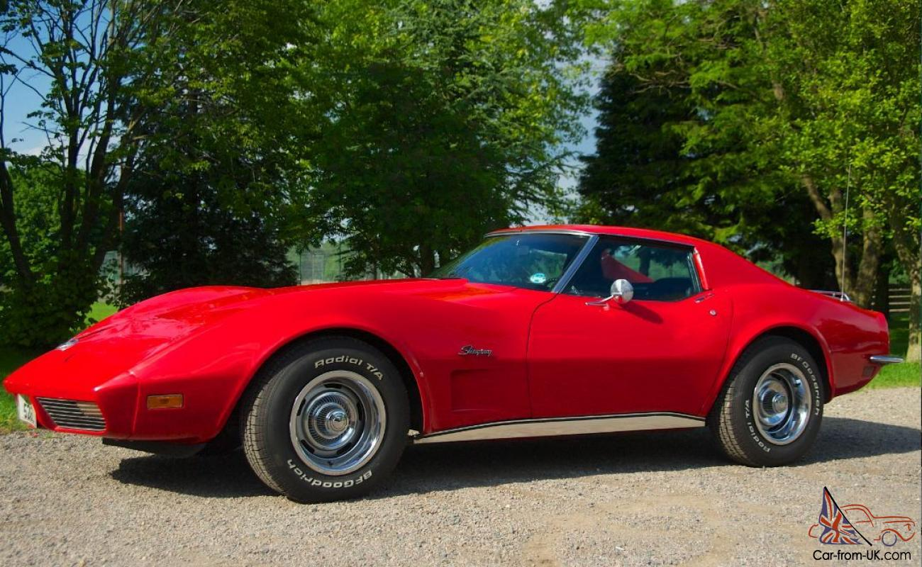 beautiful red 1973 corvette stingray classic car l48 350 excellent. Cars Review. Best American Auto & Cars Review