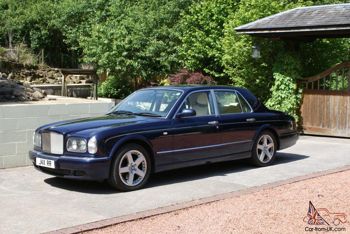 2001 bentley arnage price