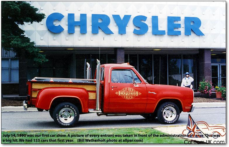 Dodge Lil Red Express Truck 6 0 V8 Auto Stepside Muscle
