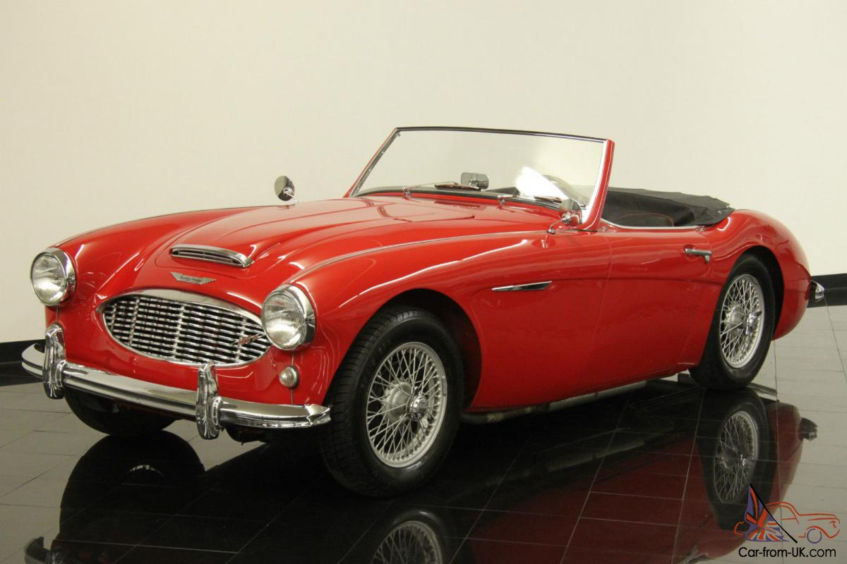 1958 austin healey 100 6 bn4 roadster numbers matching 2639cc 4 speed with od. Black Bedroom Furniture Sets. Home Design Ideas