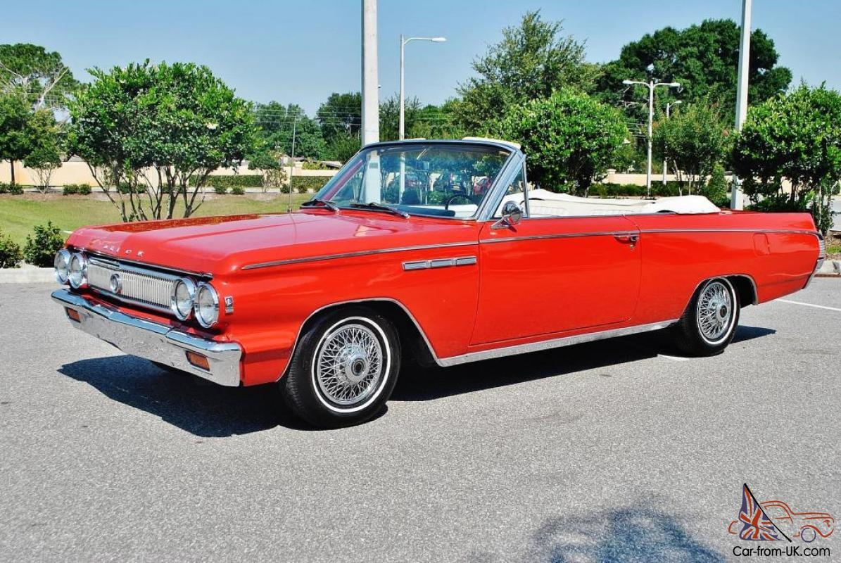 Most Well Equiped 1963 Buick Skylark Convertible In U S Even Factory A C P S P B