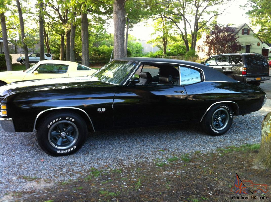 71 chevelle ss 454 ls5 big block survivor garage find