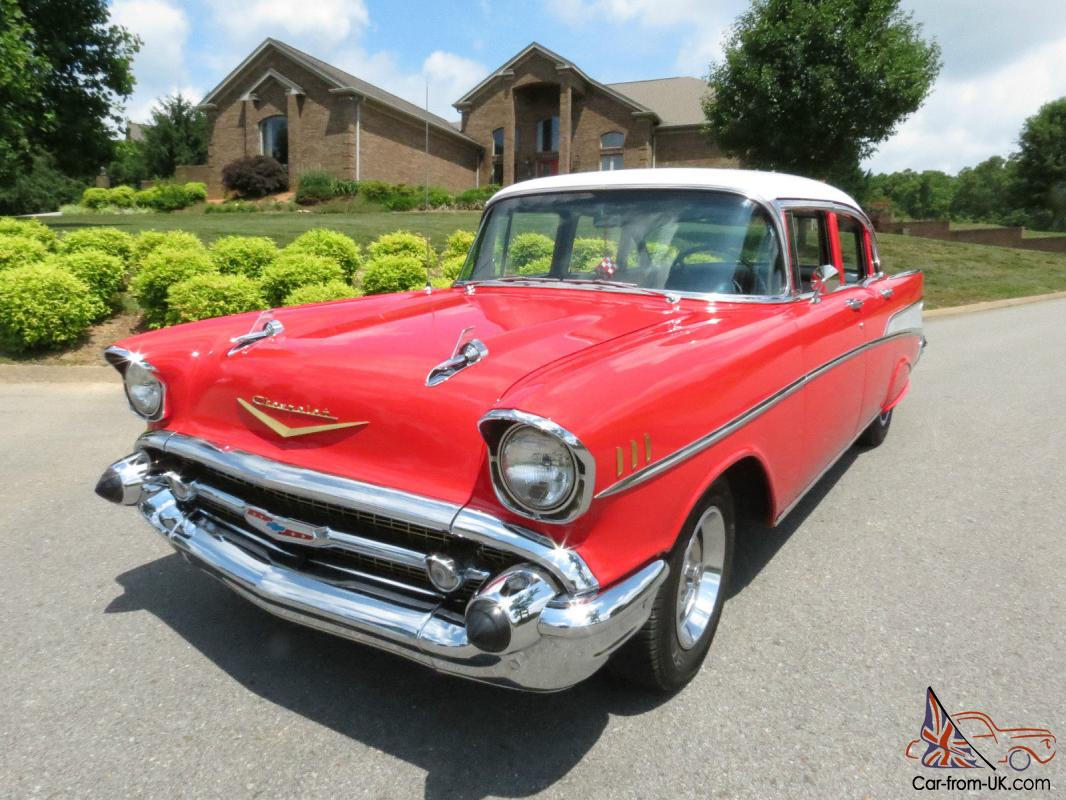 1957 chevrolet 4 door belair for 1957 chevrolet 4 door
