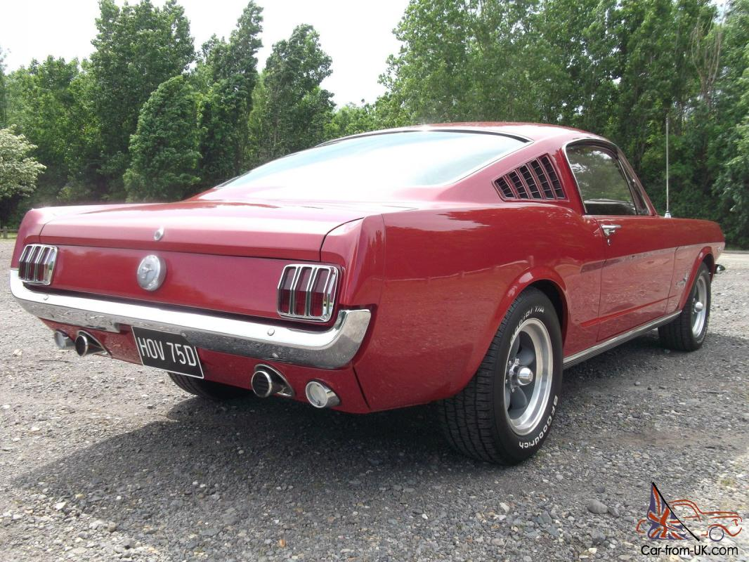 1966 Ford Mustang Fastback 289ci V8 Manual C Code In