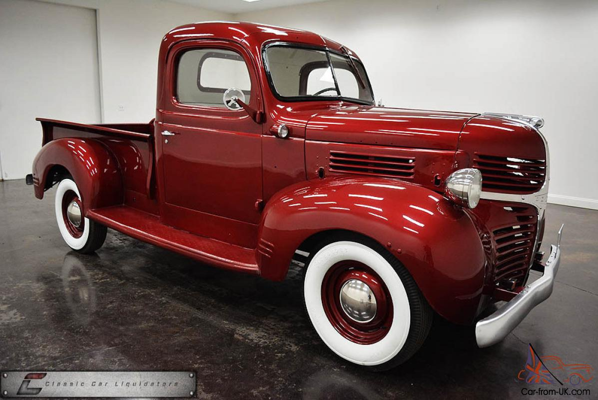 1946 dodge pickup very nice must see. Black Bedroom Furniture Sets. Home Design Ideas