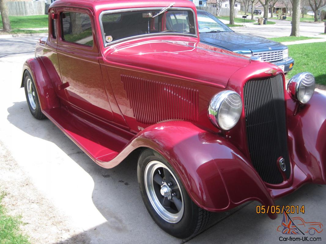 1933 dodge 5 window coupe