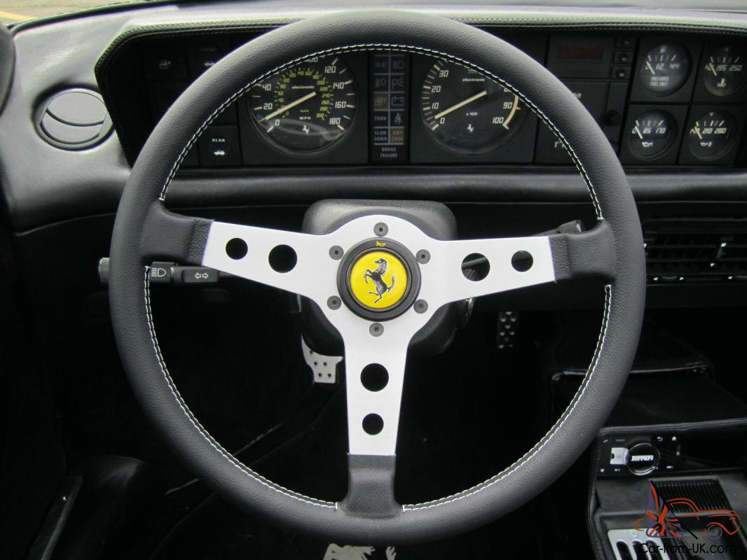 ferrari mondial daytona interior flares and chairs tons of extras. Black Bedroom Furniture Sets. Home Design Ideas