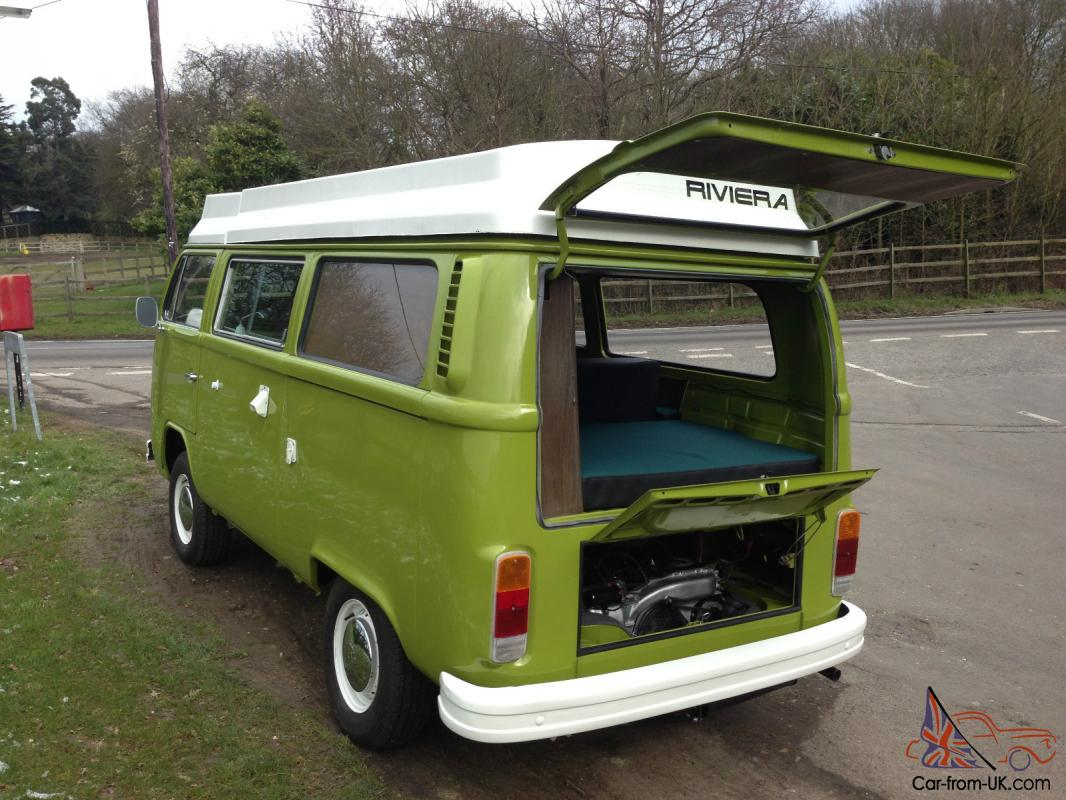 vw type 2 volkswagen riviera campervan 1977. Black Bedroom Furniture Sets. Home Design Ideas