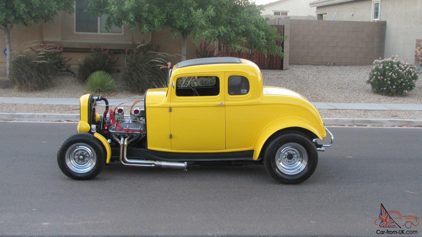 1932 ford coupe rare american graffiti replica