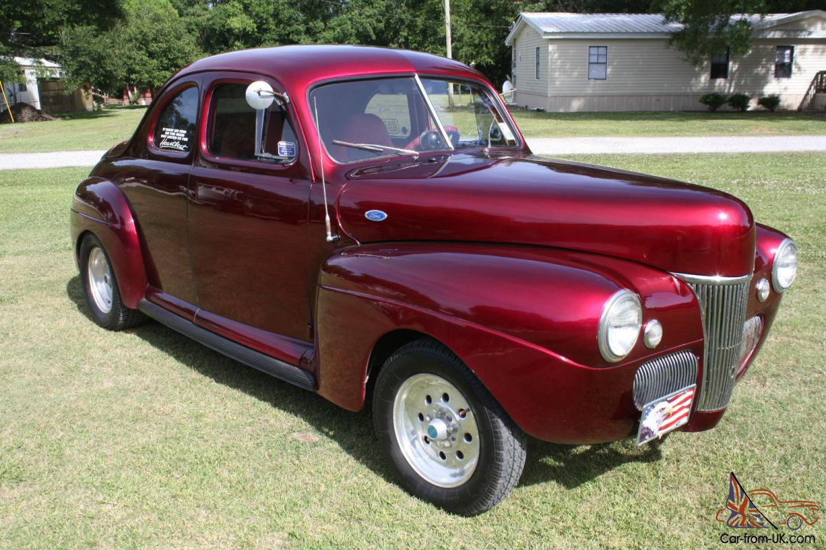 1941 ford business coupe retro rod low miles since built. Black Bedroom Furniture Sets. Home Design Ideas