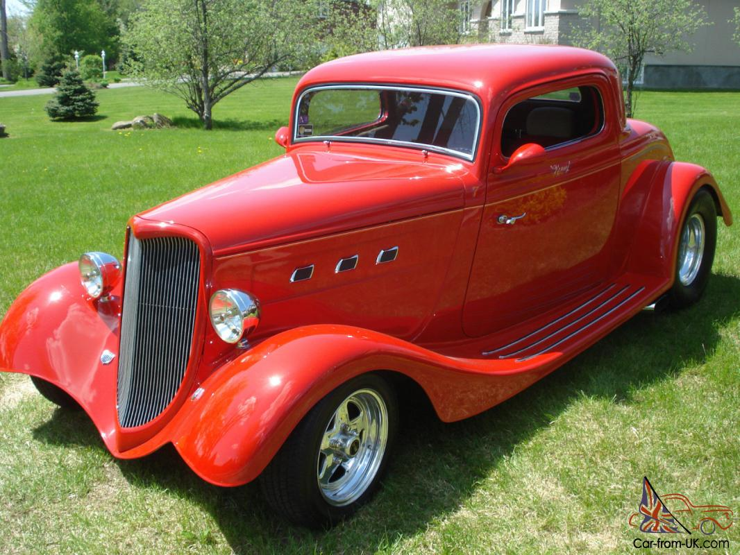 1934 ford 3 window coupe in mint condition for 1934 ford 3 window