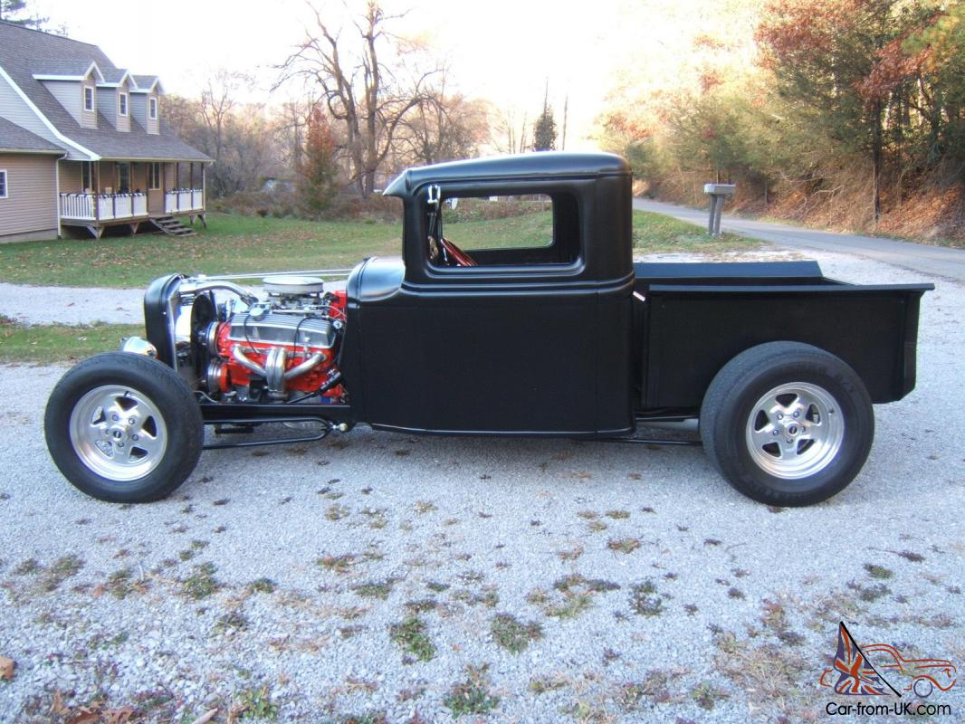 Ford Pickup Chopped Channeled All Steel 1932 1934 Ratrod Hotrod ...