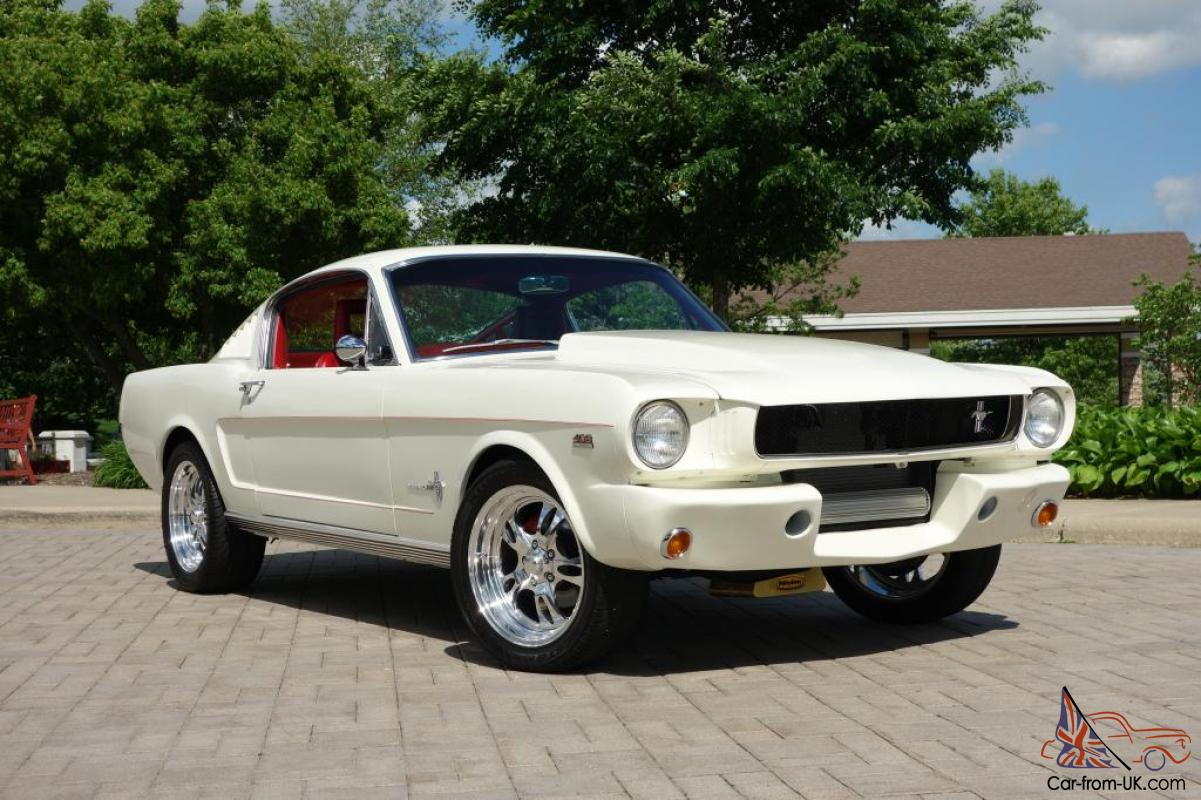 1965 ford mustang 2 2 fastback resto mod 408 v8 500. Black Bedroom Furniture Sets. Home Design Ideas