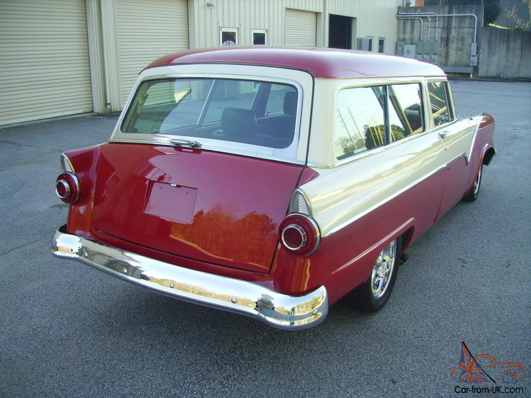 1955 ford 2 door ranch wagon