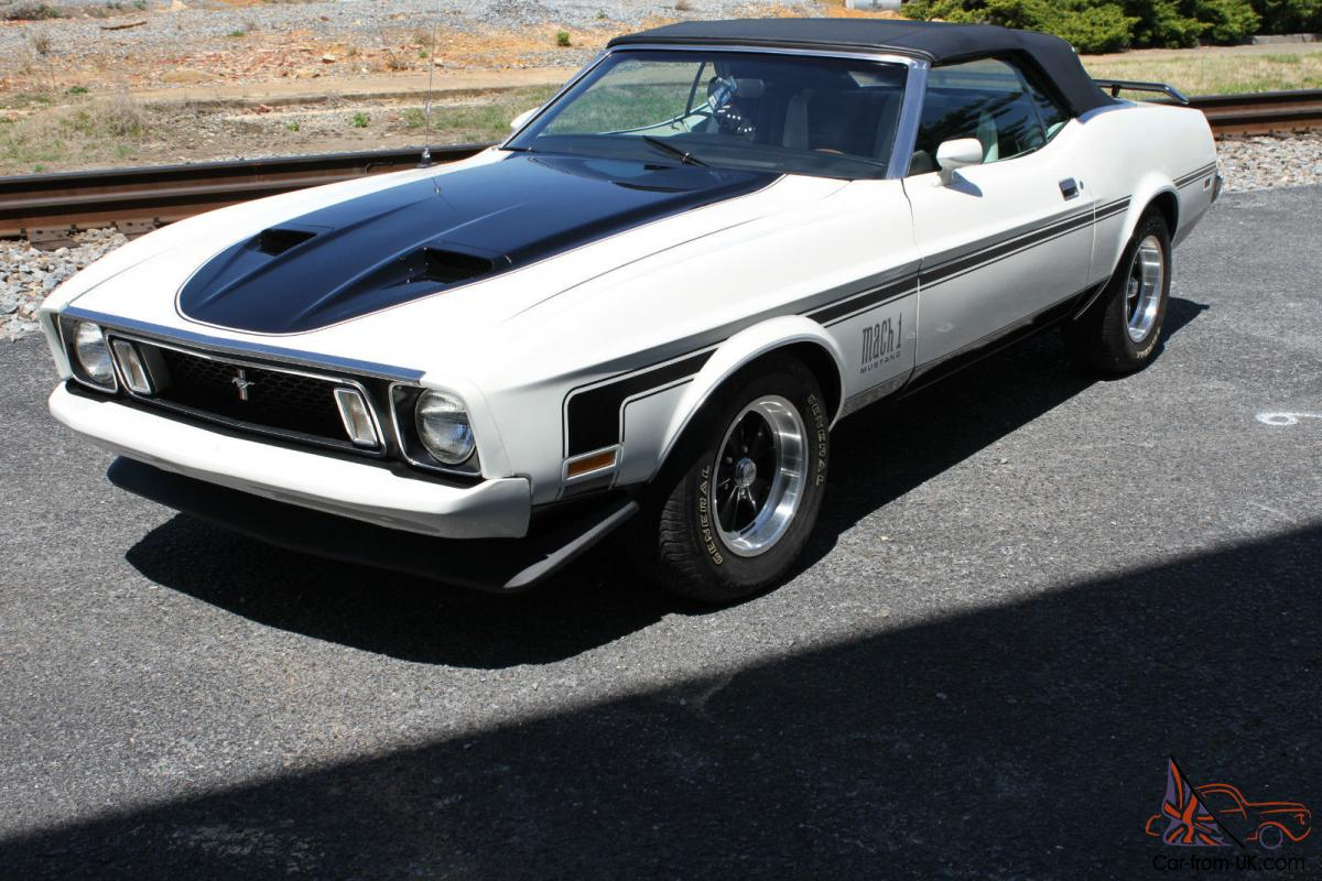1973 mustang mach 1 convertible. Black Bedroom Furniture Sets. Home Design Ideas