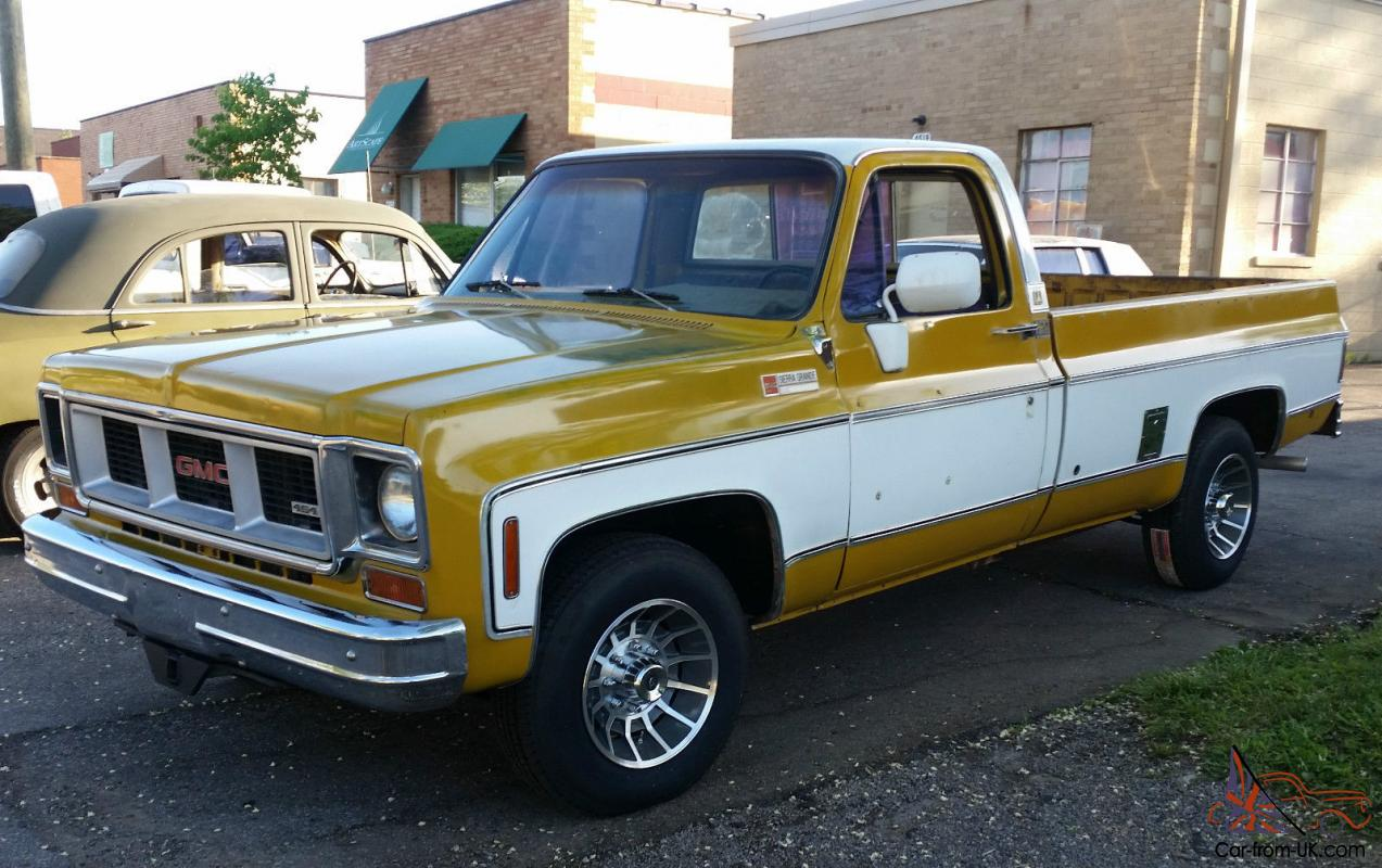 1973 GMC Sierra Grande Camper Special 2wd 3/4 Ton Original Paint Reliable Driver