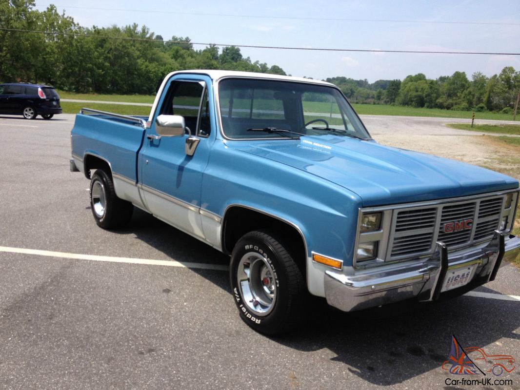 1985 Gmc C1500 Base Standard Cab Pickup 2 Door 5 7l Short Bed