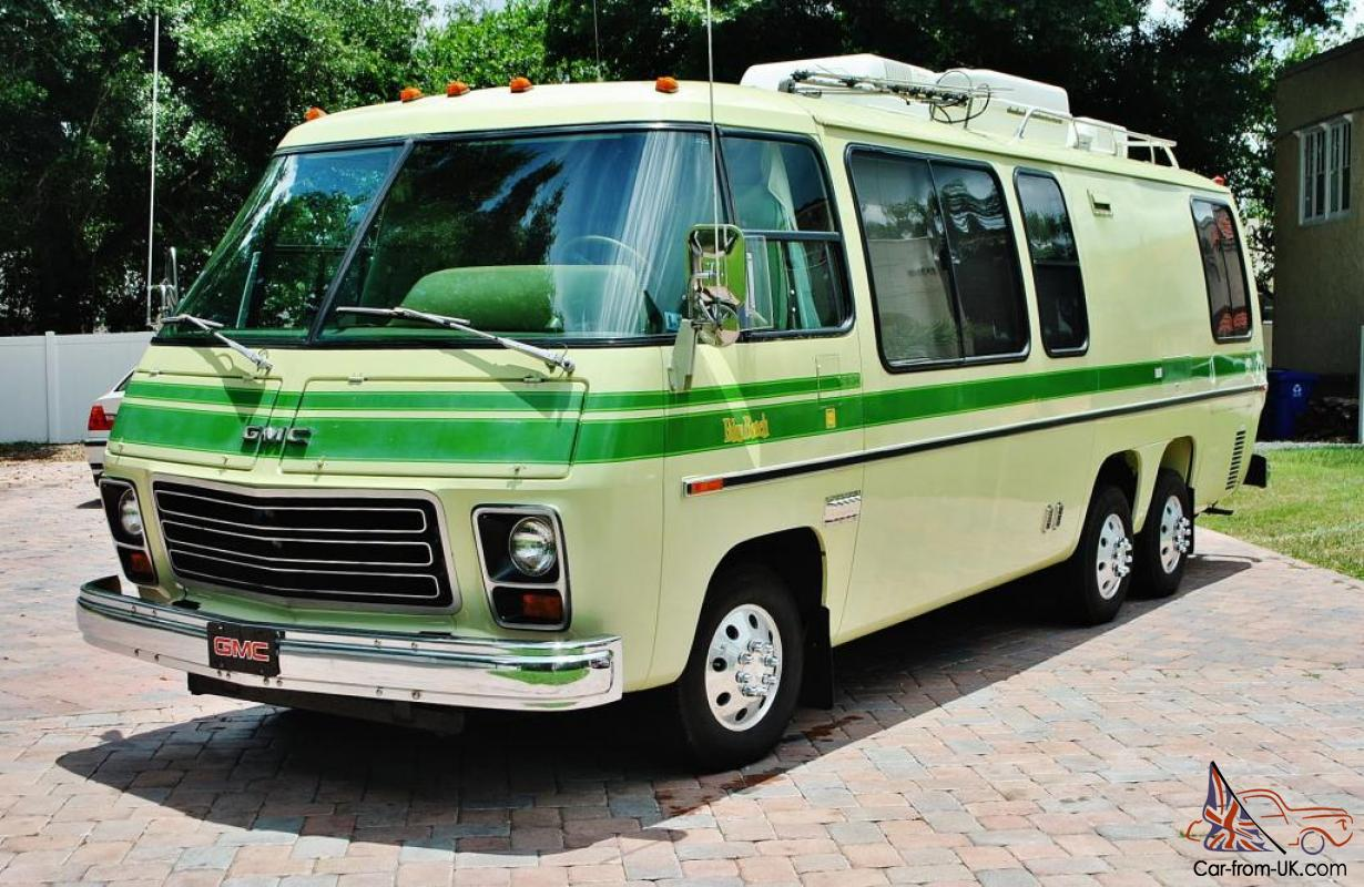 Gmc Motorhome For Sale >> 1976 Gmc Motor Home 2 Owner Just 61 308 Miles Original And Mint Its