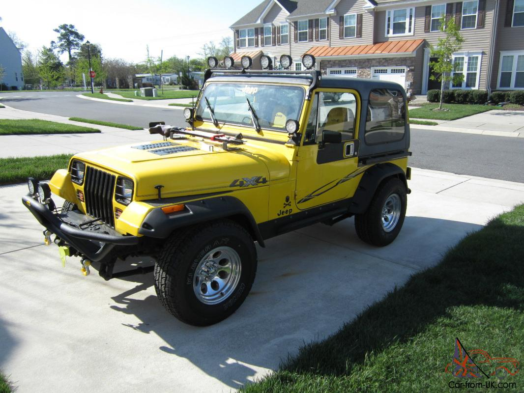 Restored 1989 Jeep Wrangler Yj 2 5l 4cyl 5 Speed
