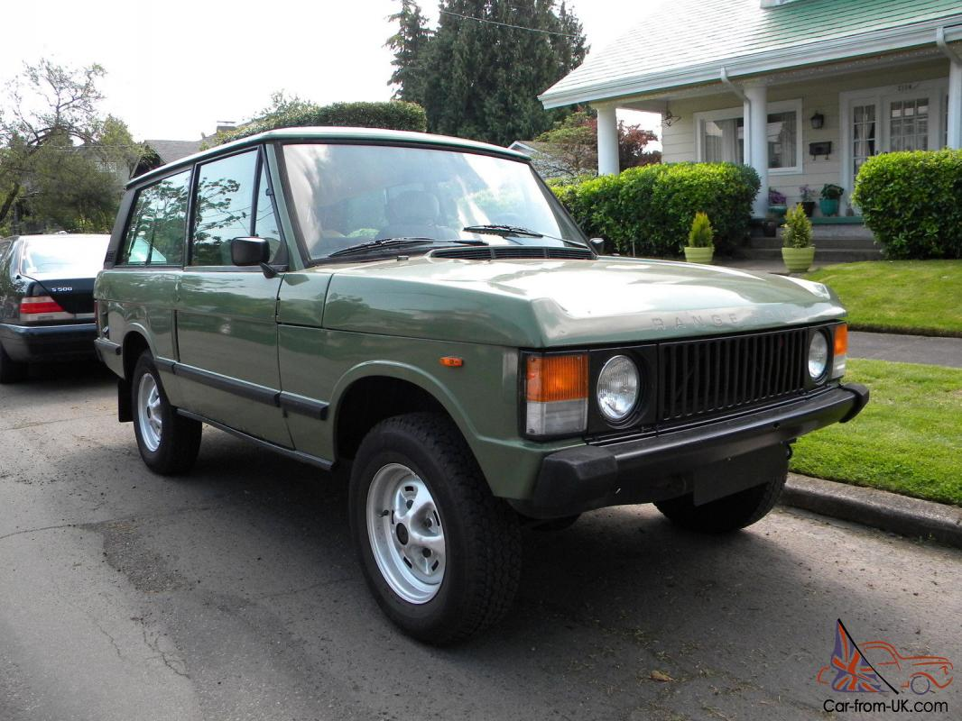 1983 range rover classic 2 door lhd v8 manual transmission lincoln green rh car from uk com range rover v8 manual gearbox range rover classic v8 manual