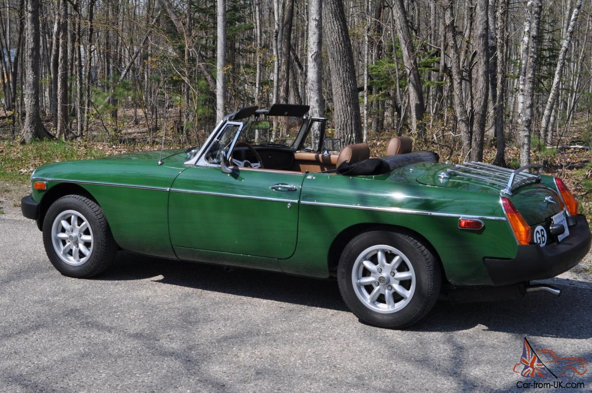 1979 MG MGB MK IV Convertible 2 Door 18L Overdrive