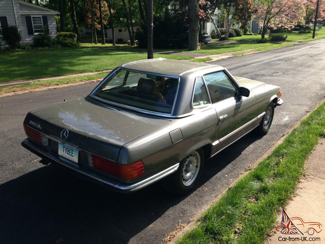 1984 mercedes benz 380sl roadster convertible for 380sl mercedes benz for sale