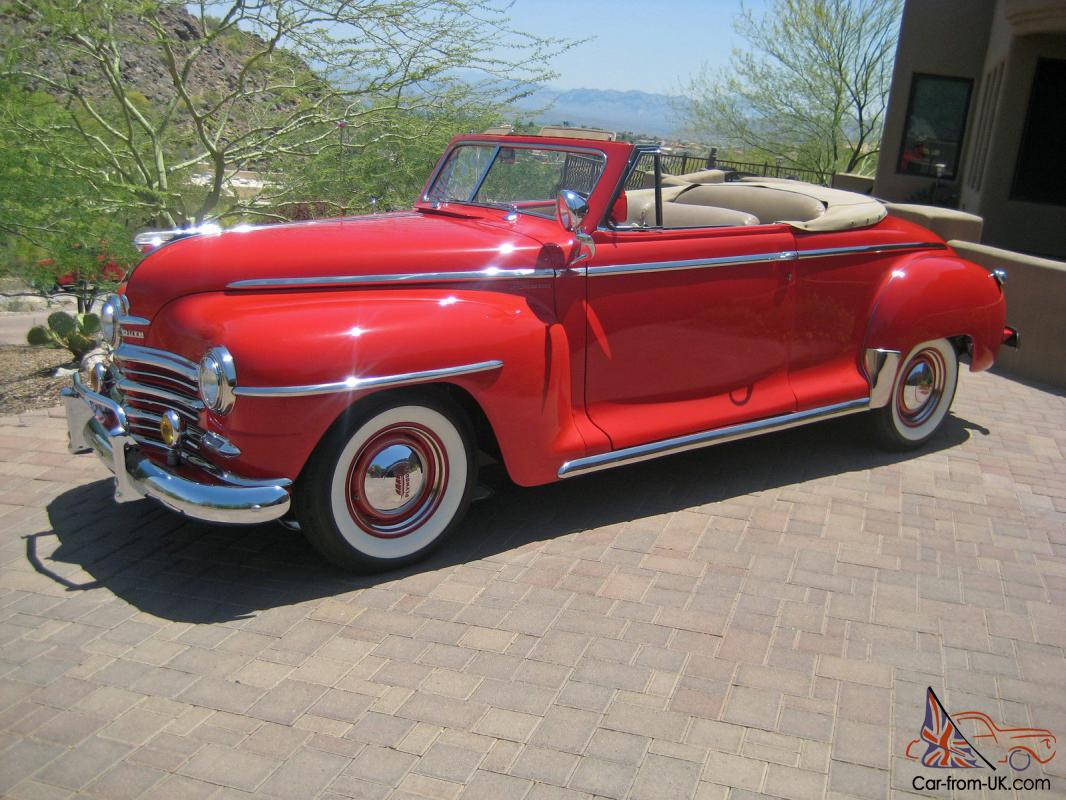1948 plymouth special deluxe convertible p15 frame off. Black Bedroom Furniture Sets. Home Design Ideas