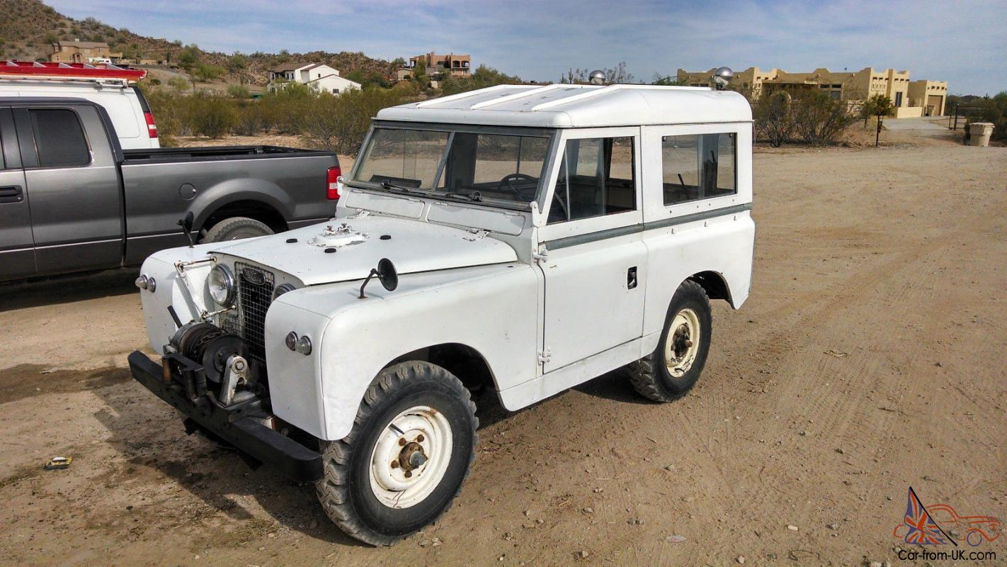 1966 Land Rover Series 2a Defender Iia With Pto Winch