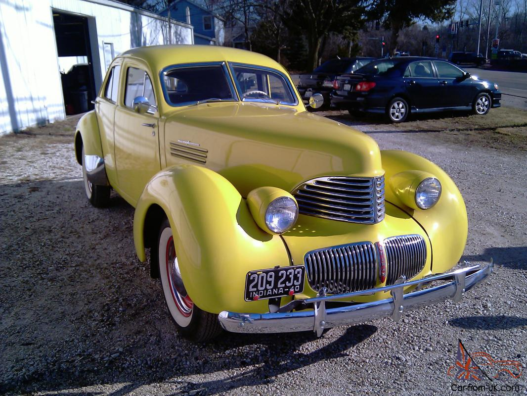 1940 Graham Hollywood With Factory Supercharger