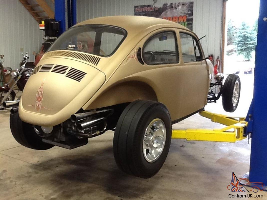 1969 Volkwagon Bug  Rod Project    Beetle Classic   Rat Rod