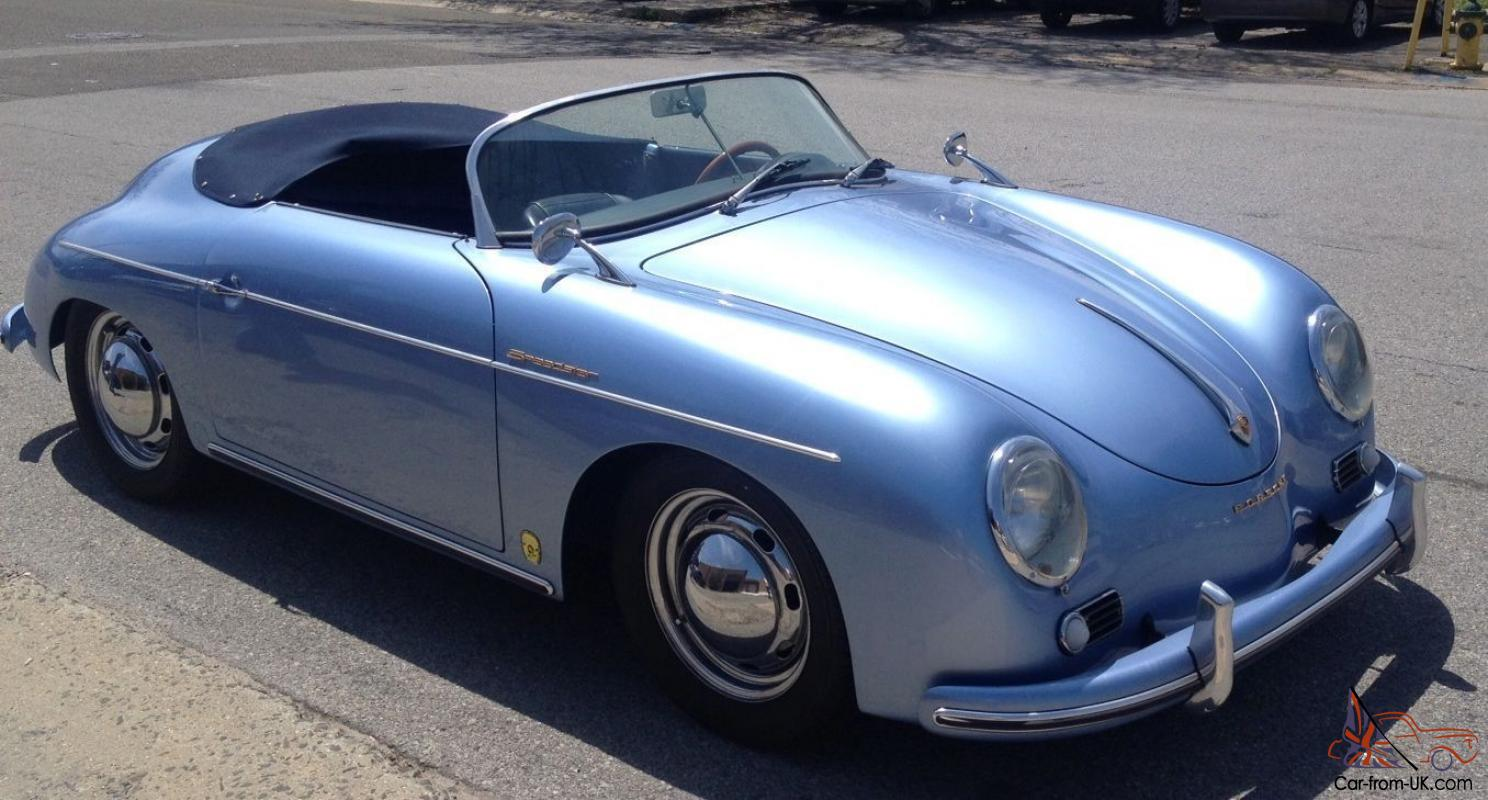 Porsche Speedster Cabriolet Replica by JPS Motorsports Turbo VW Motor Blue