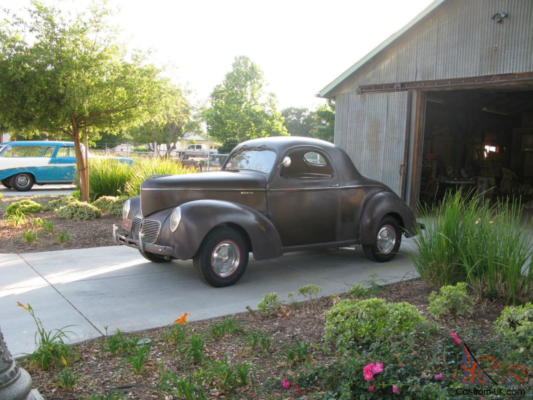1940 Willys Coupe, all steel, rare original, SCTA,unrestored,gasser ...