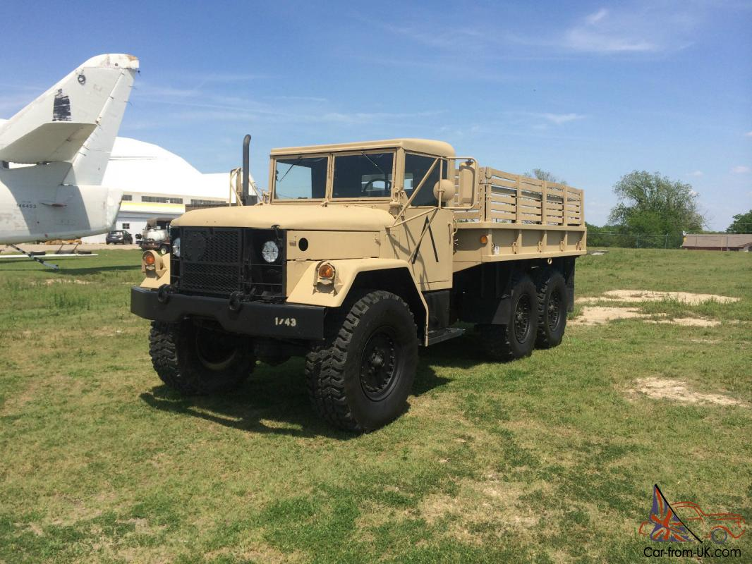 1972 m35a2 deuce half truck and m105a2 trailer total bug out package