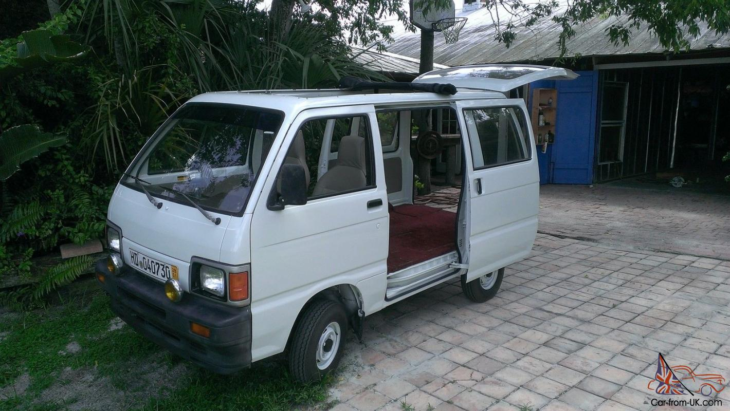 daihatsu hijet mini van one owner like vw bus low miles mint. Black Bedroom Furniture Sets. Home Design Ideas