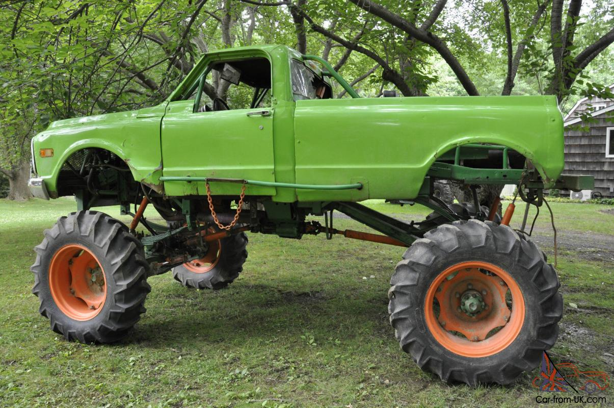 Mud Trucks For Sale >> 1969 4 X 4 Chevy Monster Racing Mud Truck