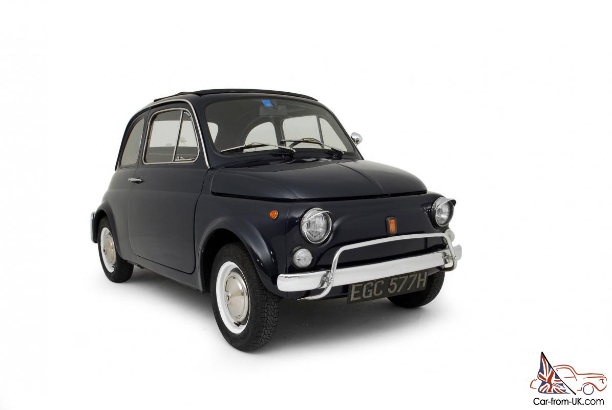 1970 fiat 500 l classic vintage 500l lusso cinquecento superb. Black Bedroom Furniture Sets. Home Design Ideas