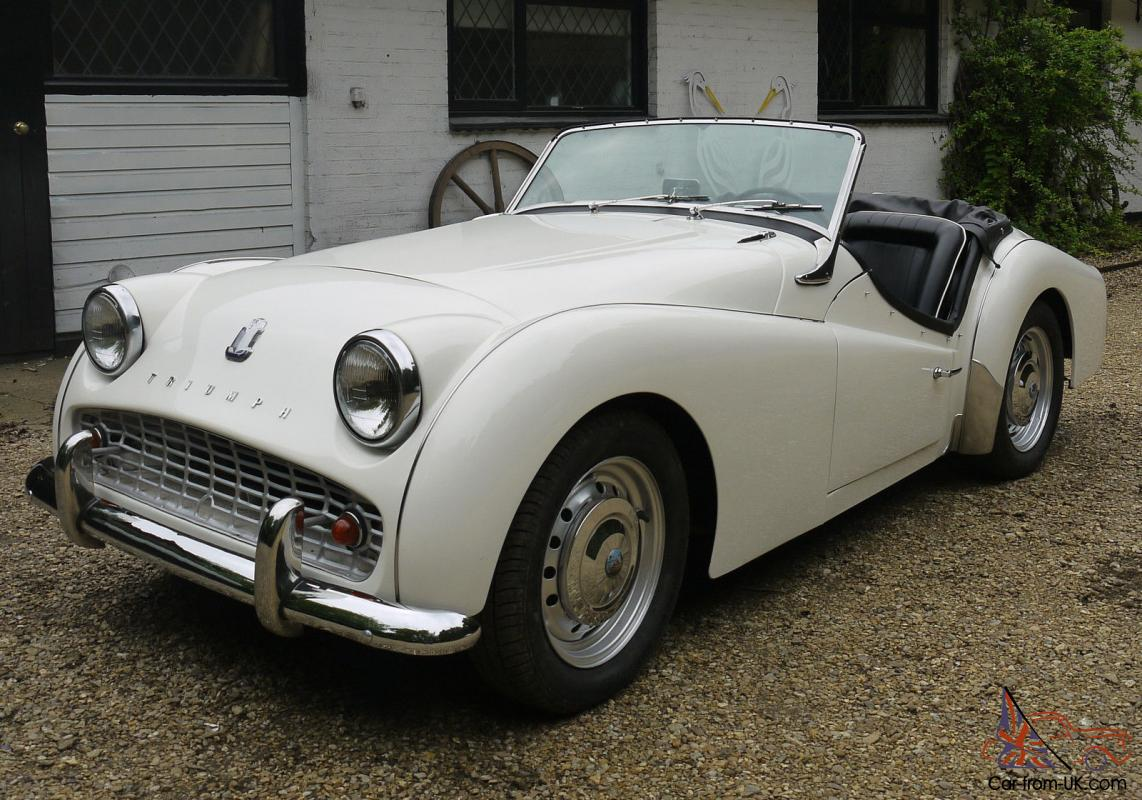 1960 triumph tr3a superb recently fully restored lhd example. Black Bedroom Furniture Sets. Home Design Ideas