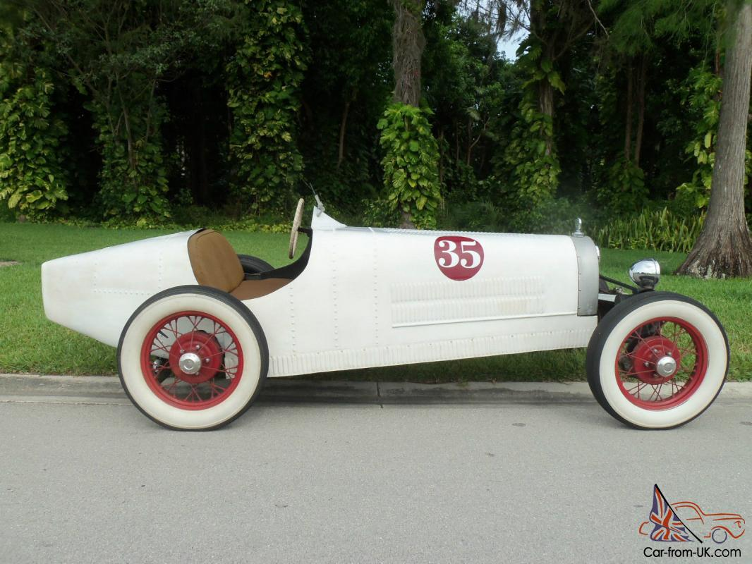 Bugatti T-35 Racer Kit Car Replica on 1968 VW Chassis Roadster