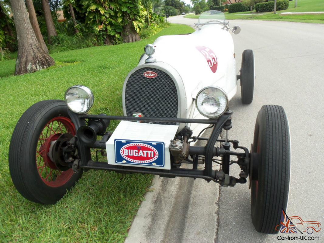 Bugatti T 35 Racer Kit Car Replica On 1968 Vw Chassis Roadster